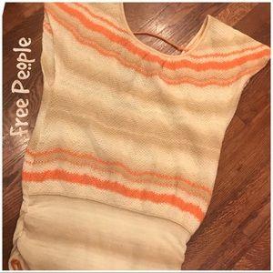 Free People lightweight knit sweater tunic